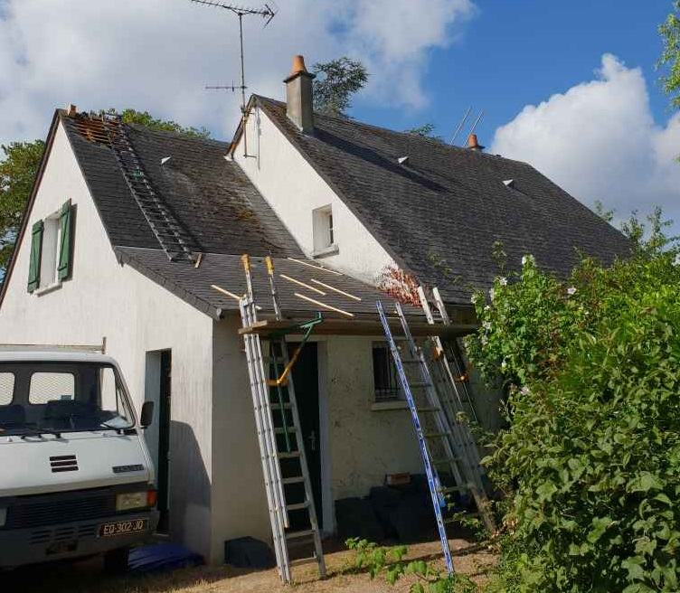 renovation de toiture Pornic