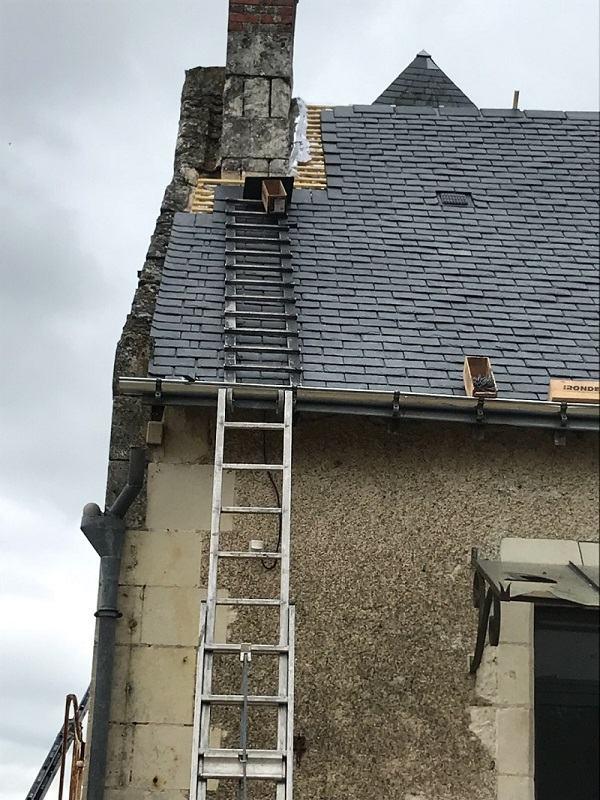 reparation de pied de cheminee Saint-Herblain