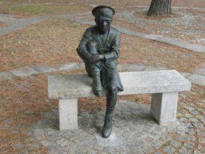 La statue de Jules Vernes à Nantes 44000